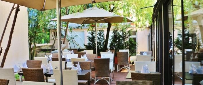 Restaurant Il Giardino - Terrasse et jardin